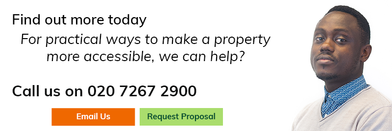 For practical ways to make a property more accessible, we can help